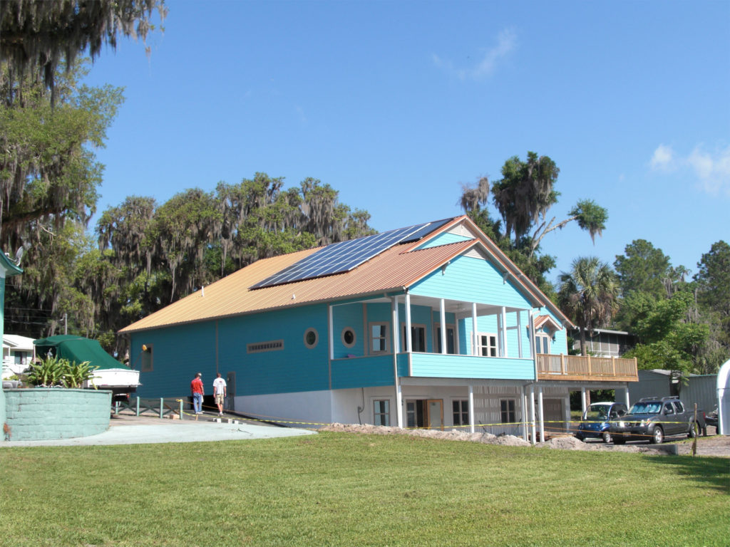 Brber Solar House